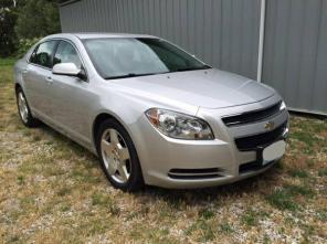 2010 Silver 4-Door Chevy Malibu LT with VERY LOW MILES