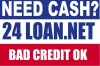24LOAN.NET $100-$1,000 PERSONAL LOANS [ALL CREDIT TYPES WELCOME] APPLY ONLINE 24/7